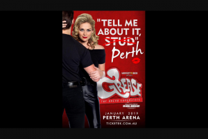 Perth Now – Win a VIP Family Pass to See Grease The Arena Experience closes 12noon