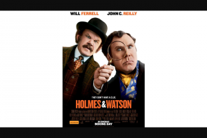 Perth Now – Win One of 100 Double In Season Passes to Holmes and Watson