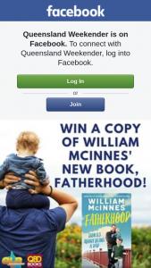 Queensland Weekender – Five Signed Copies of William Mcinnes' New Book