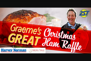 Radio 2st Nowra – Win a Delicious Ham