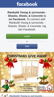 Ranbuild Young & Surrounds – Must Be Able to Collect Prize From The Shop In Young Before (prize valued at $350)