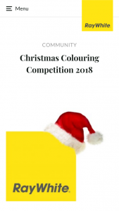 Ray White Wodonga Vic – Win One of Two Christmas Gift Packs Including a $20 Gift Card (prize valued at $40)