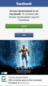 Screen Queensland – Win a Double Pass to The Australian Premiere of Aquaman
