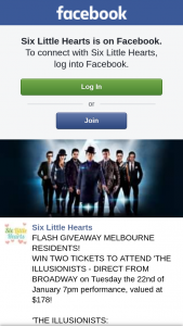 Six Little Hearts – Win a Night Out to See this Show (prize valued at $178)