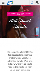 STA Travel – Win a $500 Sta Travel Voucher to Put Towards Making That Wanderlust a Reality (prize valued at $500)