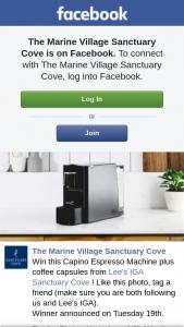 The Marine Village Sanctuary Cove – Win this Capino Espresso Machine Plus Coffee Capsules From Lee's Iga Sanctuary Cove