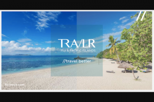 Travlr – Win a Trip for 2 to Fiji (prize valued at $4,000)