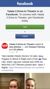 Yatala 3 Drive-In Theatre – Posted 4pm