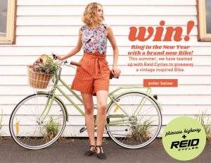 Princess Highway – Win a brand new vintage Bike from Reid Cycles valued at $309