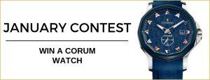 WorldTempus – Win a Corum watch valued at CHF4,200