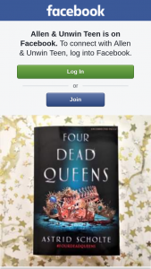 Allen & Unwin teen – Win One of Three Advance Copies of Four Dead Queens