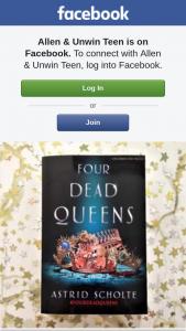 Allen & Unwin teen – Win One of Three Advance Copies of Four Dead Queens