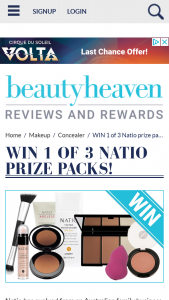 Beauty Heaven – Will Score a Natio Prize Pack Featuring
