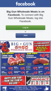 Big Gun Wholesale Meats Underwood – Win One of 2 $100 Vouchers.specials Valid 2.1.2019 (prize valued at $200)
