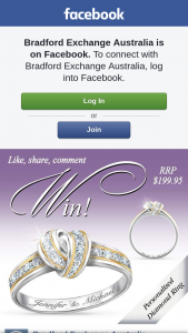 Bradford Exchange – Win Our Wrapped In Love Personalised Diamond Ring