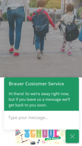 Brauer – Win a $400 Back to School Gift Pack Back to School (prize valued at $401)