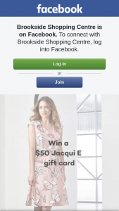 Brookside Shopping Centre – With a $50 Jacqui E Gift Card to Help Them Start this Year Fresh
