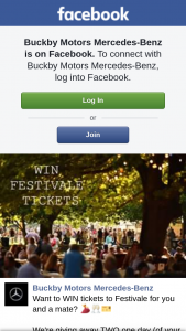 Buckby Motors Mercedes – Win Tickets to Festivale for You and a Mate