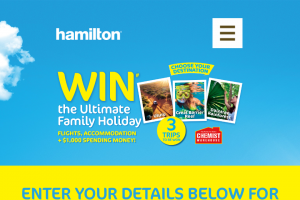 Chemist Warehouse-Hamilton Sunscreen – Win a Family Aussie Escape for Four (4) People From a Choice of Three (3) Prize Destinations Uluru (prize valued at $11,500)