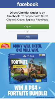 Direct Chemist Outlet – Win a PS4 Fortnite Bundle