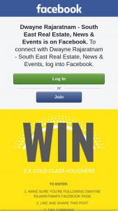Dwayne Rajaratnam Real Estate – Win 2 X Gold Class Vouchers