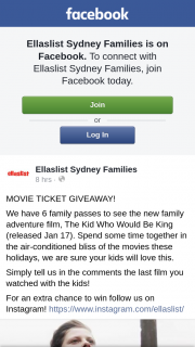 Ellaslist Sydney Families – Follow Us on Instagram