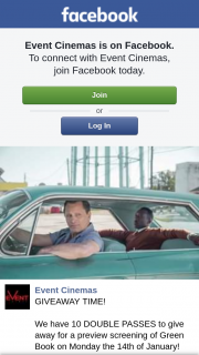 Event Cinemas Brisbane Myer Centre – for a Preview Screening of Green Book on Monday The 14th of January