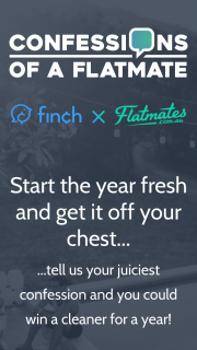 Finch – Win a Cleaner for a Year (prize valued at $5,000)