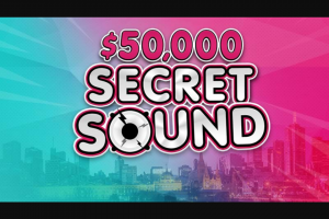 FOX FM – Win You $50000 (prize valued at $50,000)
