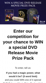 Gelatissimo – Win 1 of 4 DVD Movie Prize Pack's Nbstarts Today at 12pm (prize valued at $280)
