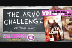 Gold Central Vic – Win a Pizza Thanks to Eagle Pizza and The DVD Final Score Thanks to Defiant Screen Entertainment