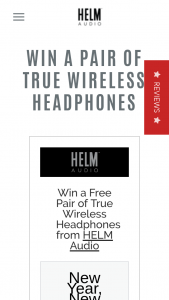 Helm Audio – Win a Free Pair of True Wireless HeaDouble Passhones From Helm Audio (prize valued at $1,000)