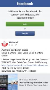 Hit Local – Win $100 Visa Debit Card