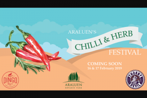 Hit 92.9 – Win an Araluens Chilli and Herb Festival Pack Including