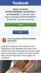 Hoyts Entertainment Quarter – Win a Family Pass to The Adorable Pick of The Litter