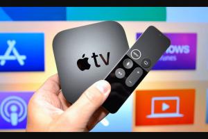 idrop news – Win a 32gb Apple Tv 4k (prize valued at $179)