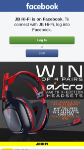JB HiFi – Four Pairs of These Nifty Headets for Those Who Like this Post and Tell Us Why You Need The Astro A40s In Your Life In Under 25 Words Or Less