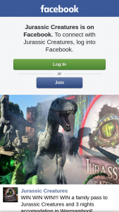 Jurassic Creatures – Win a Family Pass to Jurassic Creatures and 3 Nights Accomodation In Warrnambool