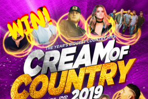 Kix Country – Win Cream of Country 2019 (prize valued at $19)