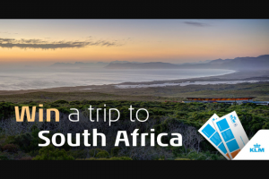 KLM iFly Magazine – Win Two Tickets to Cape Town With Two Nights of Luxury Accommodation In this Spectacular Nature Reserve