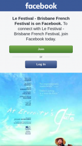 "Le Festival Brisbane French Festival – to ""at Eternity's Gate"" Starring Willem Dafoe As Vincent Van Gogh"