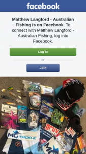 Matthew Langford – Win a Great Fishing Pack to Begin The Year