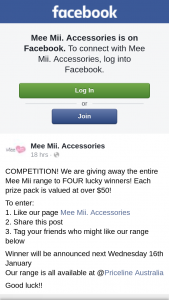 Mee Mii – The Entire Mee Mii Range to Four Lucky