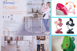 Mouths of Mums – Win a Dreambaby® Prize Pack Comprising (prize valued at $552)