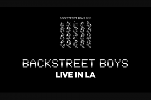 NOVA FM – Simply Enter Below and Tell Us Why You Need to See Backstreet Boys Live Overseas (prize valued at $10,000)