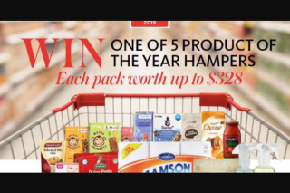 Now to Love – Win a Product of The Year Hamper (prize valued at $1,640)