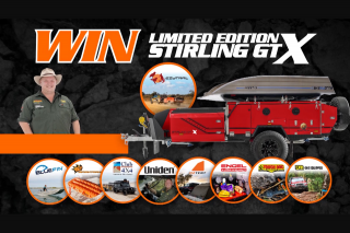 Offroad Media Productions – Win an Ezytrail Stirling Gt Mk2 Camper Trailer Package Worth $35000 (prize valued at $35,000)