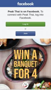 Peak Thai – Win Banquet for 4 this Australia Day