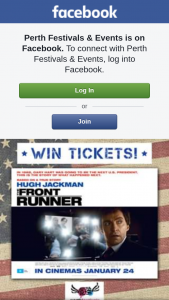 Perth Festivals & Events – Win #competitions #perthfestivalsandevents #frontrunnermovie