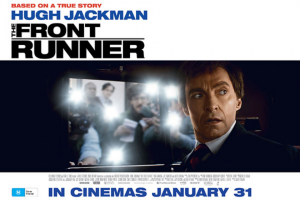 RACV – Win a Double Pass to See Oscar® Nominee Hugh Jackman Star As The Charismatic Politician Gary Hart In The New Thrilling Drama The Front Runner (prize valued at $880)